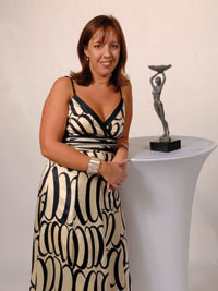 Nicki Kurran Hotel Cateys Award